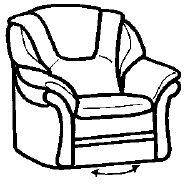 drehsessel fernsehsessel ledersessel von himolla super top angebot ebay. Black Bedroom Furniture Sets. Home Design Ideas