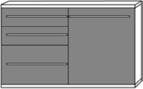 sideboard kommode kito von loddenkemper zum schn ppchenpreis jetz zugreifen ebay. Black Bedroom Furniture Sets. Home Design Ideas