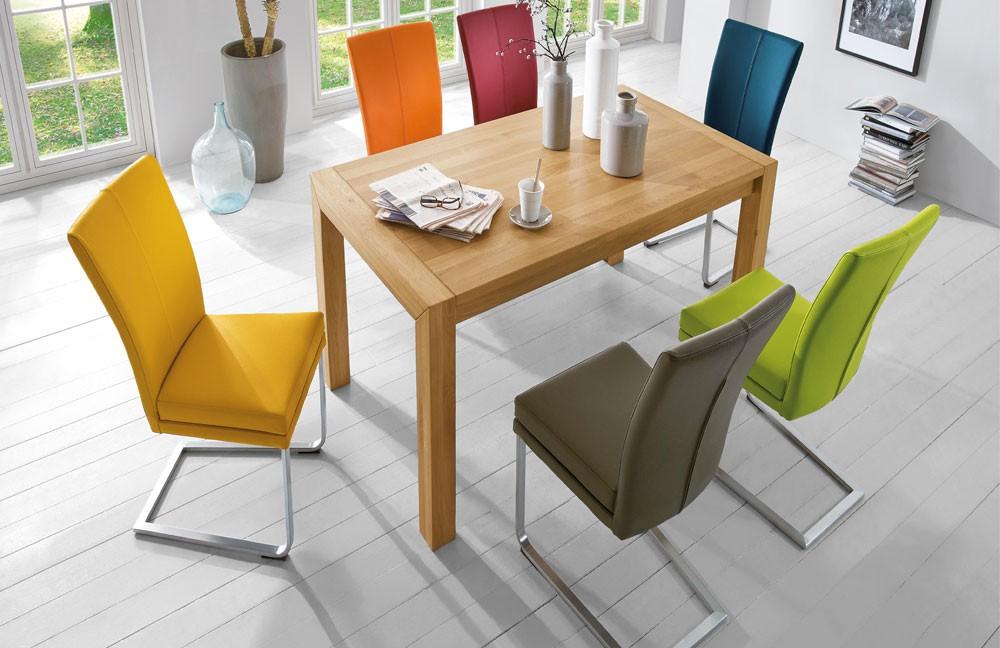 schwingst hle set 4stk esszimmerst hle von niehoff zum schn ppchenpreis ebay. Black Bedroom Furniture Sets. Home Design Ideas
