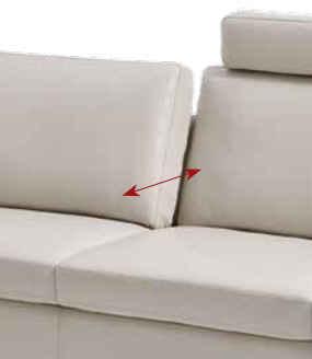 polstergarnitur couch sofa mit sitztiefenverstellung von willi schillig ebay. Black Bedroom Furniture Sets. Home Design Ideas
