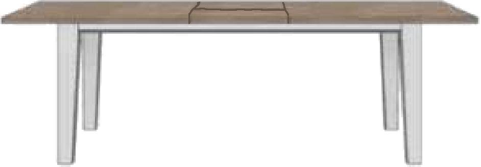 esstisch ausziehtisch mallorca von habufa ebay. Black Bedroom Furniture Sets. Home Design Ideas