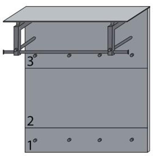 dielenm bel gaderoben paneele massello von wittenbreder ebay. Black Bedroom Furniture Sets. Home Design Ideas