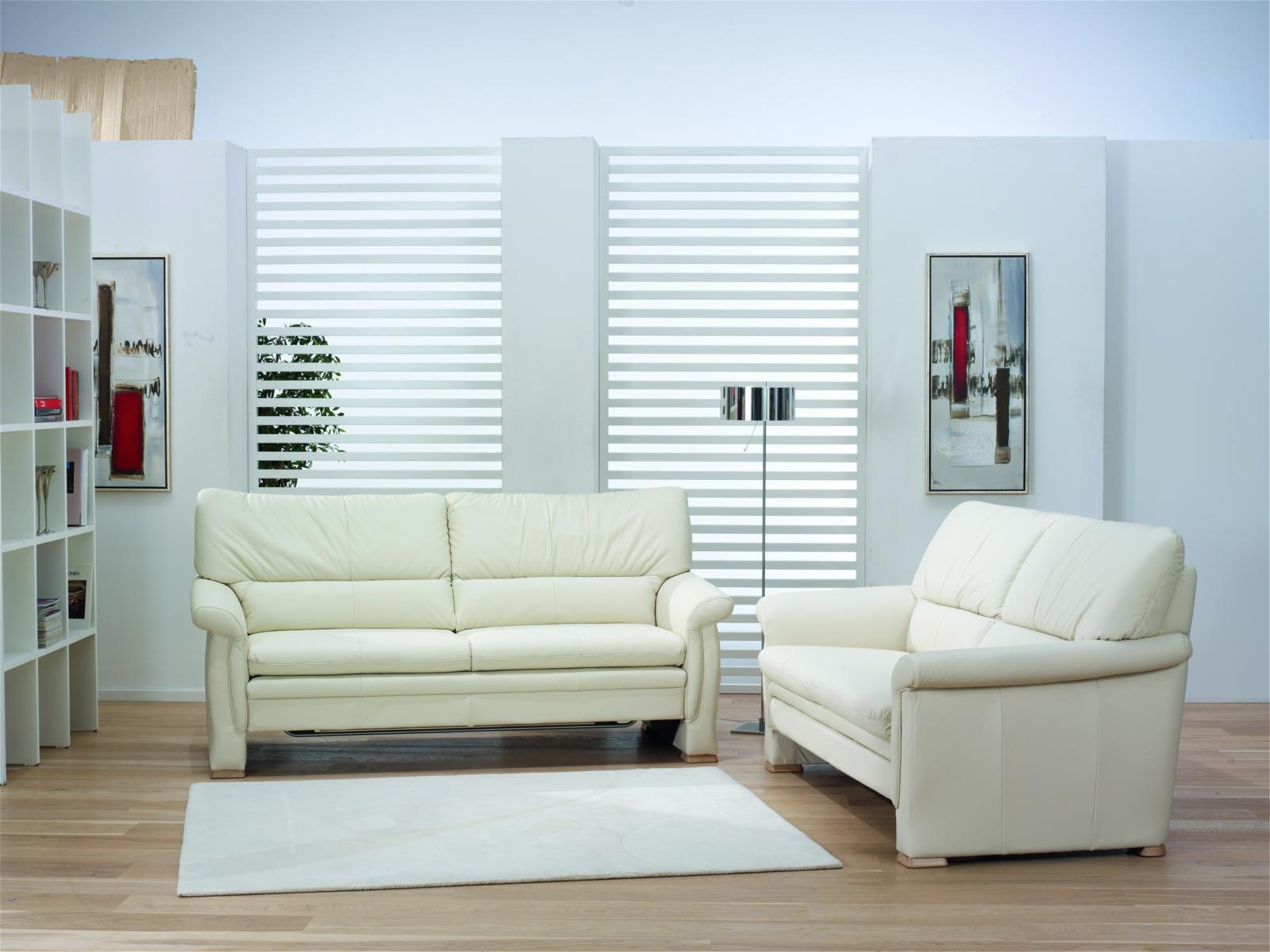 2 sitzer sofa mit doppelbett funktion von himolla top angebot ebay. Black Bedroom Furniture Sets. Home Design Ideas